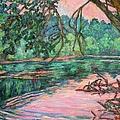 Riverview At Dusk by Kendall Kessler