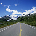 Road To Worthington Glacier by Bill Bachmann - Printscapes