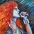 Robert Plant  by Yelena Rubin