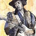 Rock Jimi Hendrix 01 by Yuriy  Shevchuk
