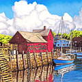 Rockport Cove by David Linton