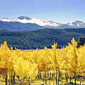 Rocky Mountain Park Colorado by James Steele