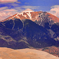 Rocky Mountains And Sand Dunes by James BO  Insogna