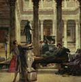 Roman Art Lover by Sir Lawrence Alma-Tadema