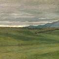 Roman Landscape by Antoine Auguste Ernest Hebert