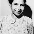 Rosa Parks Was A Member Of The Naacp by Everett