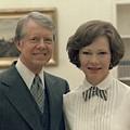 Rosalynn Carter And Jimmy Carter by Everett