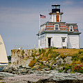 Rose Island Light by Susan Cole Kelly
