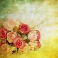 Roses Pattern Retro Design by Setsiri Silapasuwanchai