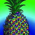 Rosh Hashanah Pineapple by Eric Edelman
