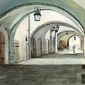 Rothenburg Backstreet by Sam Sidders