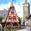 Rothenburg Memories by Sam Sidders