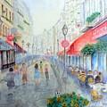 Rue Montorgueil Paris Right Bank by Dan Bozich