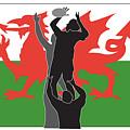 Rugby Wales by Aloysius Patrimonio