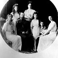 Russian Royal Family Left To Right by Everett