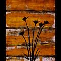 Rustic Log Cabin by Marsha Heiken