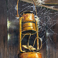 Rusty Lantern by Bob Hallmark