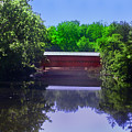 Sachs Covered Bridge In Gettysburg  by Bill Cannon
