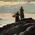 Saco Bay by Winslow Homer