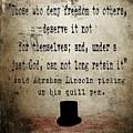Said Abraham Lincoln by Cinema Photography