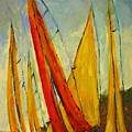 Sailboat Studies 2 by Julie Lueders