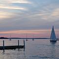 Sailing At The Uw - Madison by Lisa Patti Konkol
