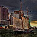 Sailing On The East River by Chris Lord