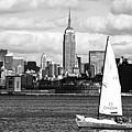 Sailing The New York Harbor by John Rizzuto