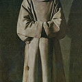 Saint Francis by Francisco de Zurbaran