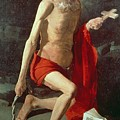 Saint Jerome by Georges de la Tour