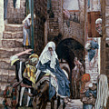 Saint Joseph Seeks Lodging In Bethlehem by Tissot