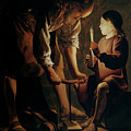 Saint Joseph The Carpenter  by Georges de la Tour