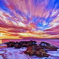 Salmon Sunrise by Bill Caldwell -        ABeautifulSky Photography