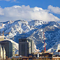Salt Lake City Skyline by Utah Images