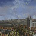 Salt Lake City Temple Square Nineteen Twelve  by Jeff Brimley