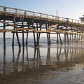 San Clemente Pier by Lynn Watters