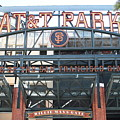 San Francisco Giants Att Park Willie Mays Entrance . 7d7635 by Wingsdomain Art and Photography