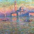 San Giorgio Maggiore Venice by Claude Monet