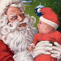 Santas Little Helper by Richard De Wolfe