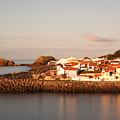 Sao Roque At Sunrise by Gaspar Avila