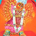 Saptashrungi Devi Nasik Maharashtra by Kalpana Talpade Ranadive