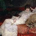 Sarah Bernhardt by Georges Clairin