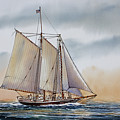 Schooner Stephen Taber by James Williamson