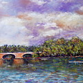 Schuylkill River Rowers by Joyce A Guariglia