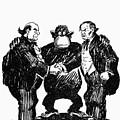 Scopes Trial Cartoon 1925 by Granger