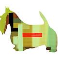 Scottish Terrier by Naxart Studio