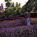 Sculpture Garden by David Lloyd Glover