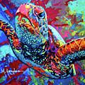 Sea Turtle by Maria Arango