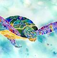 Sea Weed Sea Turtle  by Jo Lynch