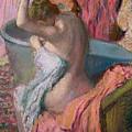 Seated Bather by Edgar Degas
